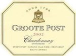 Groote Post Unwooded Chardonnay 2002
