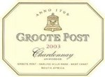 Groote Post Unwooded Chardonnay 2003