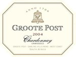 Groote Post Unwooded Chardonnay 2004