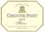 Groote Post Shiraz 2002