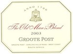 Groote Post The Old Man's Blend Red 2003